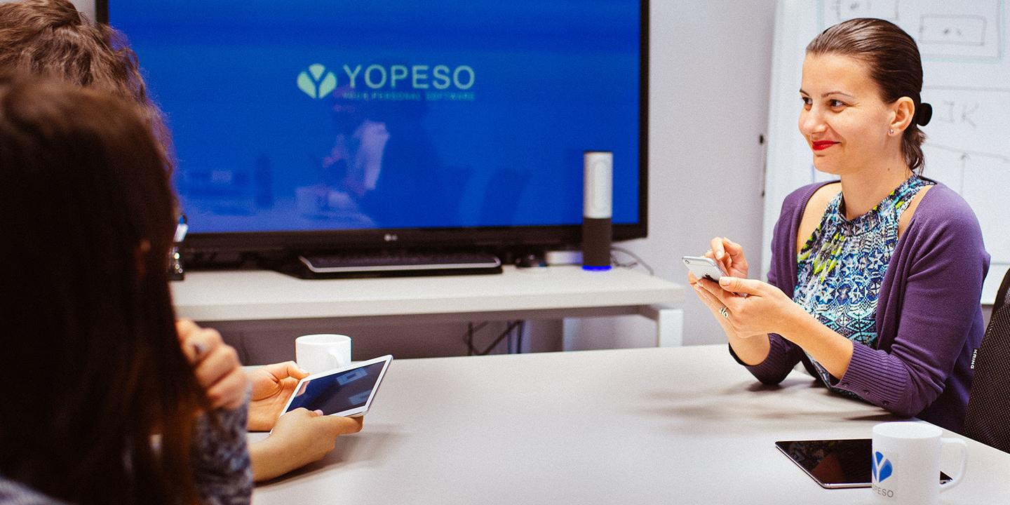 YOPESO innovative software development services
